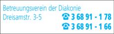 Anzeige Betreuungsverein der Diakonie