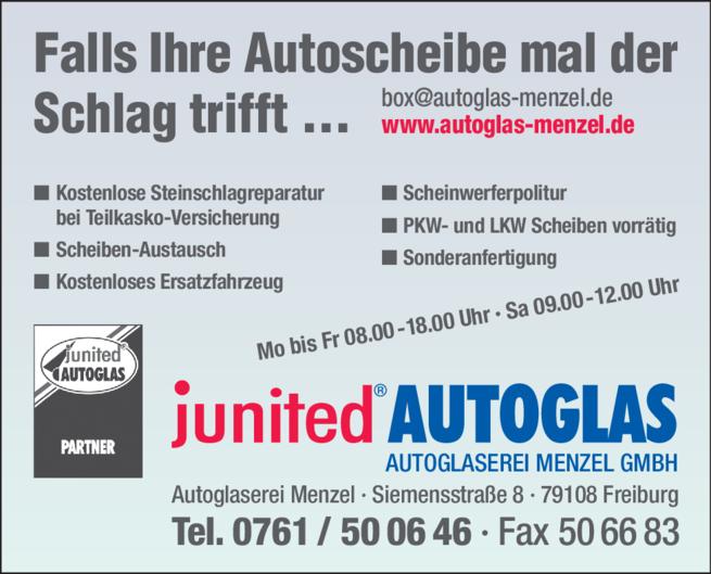 Anzeige Menzel GmbH