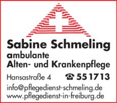 Anzeige Schmeling Sabine