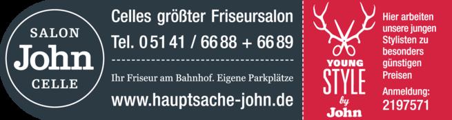 Anzeige John Friseursalon