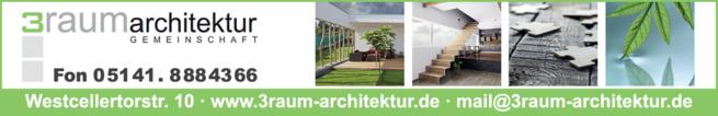 Anzeige 3RAUMarchitektur GbR