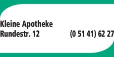 Anzeige Bierbar Kleine Apotheke