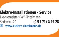 Anzeige Rintelmann Ralf