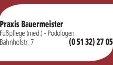 Anzeige Bauermeister