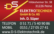 Anzeige DS Elektrotechnik