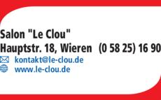 Anzeige Salon Le Clou