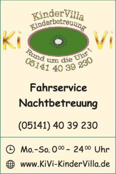 Anzeige KiVi KinderVilla