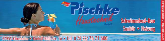 Anzeige Pischke Schwimmbad