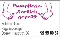 Anzeige Eichhorn Ilona