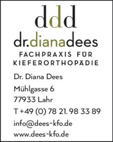 Anzeige Dees Diana Dr.