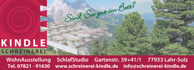 Anzeige Kindle GmbH