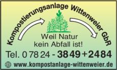 Anzeige Wittenweier GbR