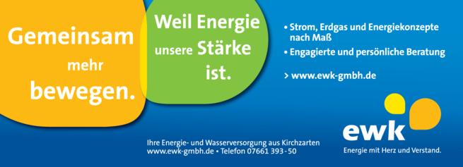 Anzeige Stromversorgung ewk