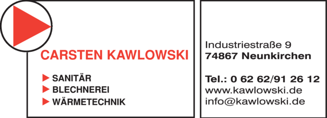 Anzeige Bauklempnerei Kawlowski Carsten