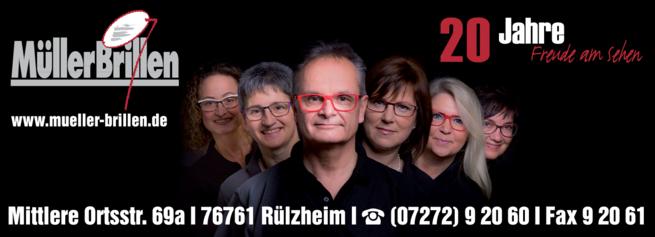 Anzeige Brille Optik Müller Brillen