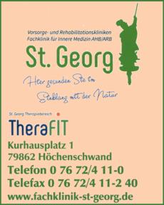 Anzeige St. Georg