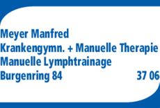 Anzeige Meyer Manfred