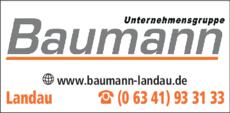 Anzeige Baumann GmbH