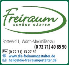 Anzeige Freiraum Wiersch GmbH & Co. KG