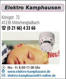 Anzeige Elektro Kamphausen H. + W. GmbH