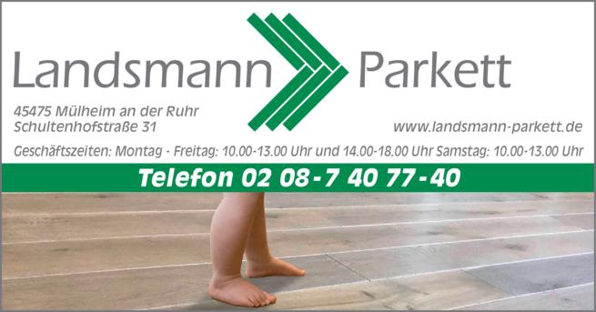 Anzeige Parkett W. Landsmann e.K.