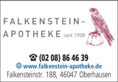Anzeige Falkenstein - Apotheke Inh. Bahman Ansari