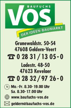 Anzeige Baumarkt Vos