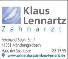 Anzeige Lennartz Klaus
