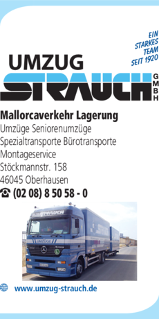 Anzeige Strauch GmbH