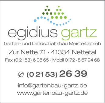 Anzeige Gartz