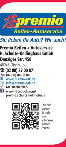 Anzeige Reifen Schulte-Kellinghaus