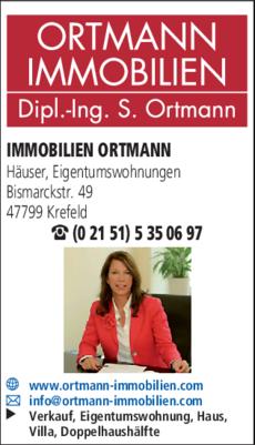 Anzeige Immobilien Ortmann