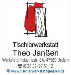 Anzeige Tischlerwerkstatt Theo Janßen