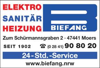 Anzeige Biefang Fritz GmbH & Co. KG