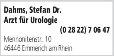 Anzeige Dahms Stefan Dr.