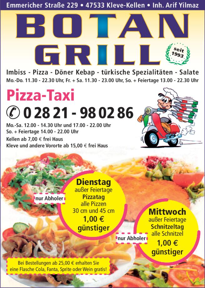 Anzeige Botan Grill