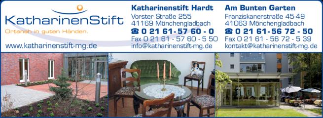 Anzeige Altenheim Katharinenstift