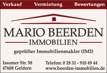 Anzeige Immobilien Beerden