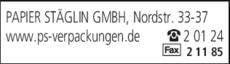 Anzeige Papier Stäglin GmbH