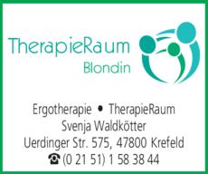 Anzeige Ergotherapie Blondin