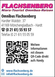Anzeige Omnibus Flachsenberg