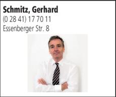 Anzeige Schmitz