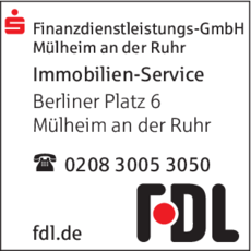 Anzeige Immobilien FDL