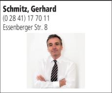 Anzeige Rechtsanwälte Schmitz G. & Kollegen