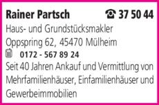 Anzeige Immobilien Partsch