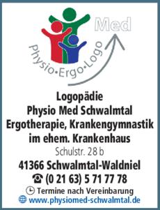 Anzeige Logopädie Physio Med