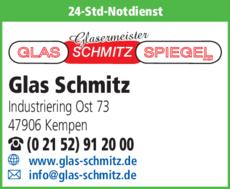 Anzeige Glas-Schmitz-Spiegel GmbH
