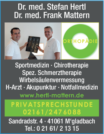Anzeige Hertl