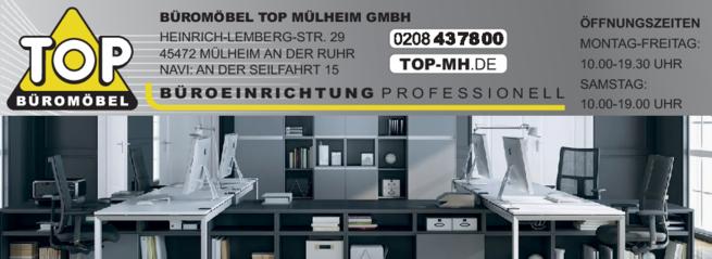 Anzeige Büromöbel Top Mülheim GmbH