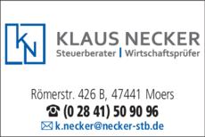 Anzeige Wirtschaftsprüfer Altmeyer u. Necker